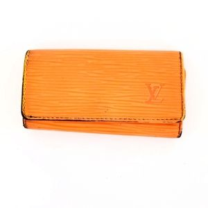 Louis Vuitton Orange Keychain